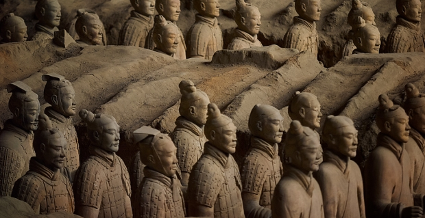 Terracotta army slider